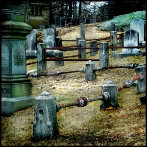 Image by Patty M. I'm still creeped out by cemeteries though