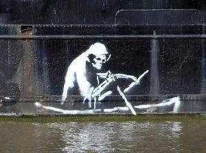 Banksy's Charon