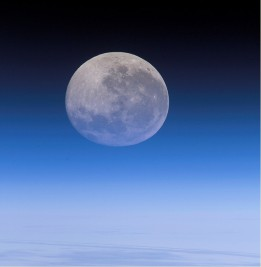 Moon nourishment is the best kind of nourishment. -Image by NASA