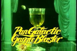Ah, the Pan-Galactic-Gargle-Blaster. I would have given a month's pocket money to try one when I was a kid.